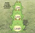 Frog Stack Pattern