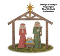 Pallet Wood Nativity Pattern