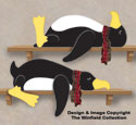 Lazy Penguins Woodcraft Pattern