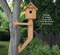 Tree Hugger Birdhouse Pattern