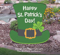Medium Leprechaun Hat Sign Pattern