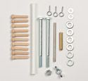 Ping Pong Ball Launchers Hardware Kit