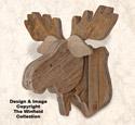 Pallet Wood Moose Mount Pattern
