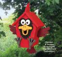 Krazy Kardinal Birdhouse Pattern