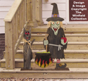 Pallet Wood Wicked Witch Pattern