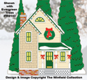 Christmas Village Grandma's House Pattern