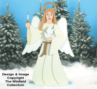 Angel Of Light Woodcraft Pattern