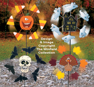 Fall Whirligig Pattern Set