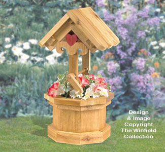 Garden Wishing Well Wood Project Plan