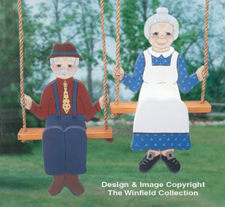 Swingin' Folks Woodcraft Pattern