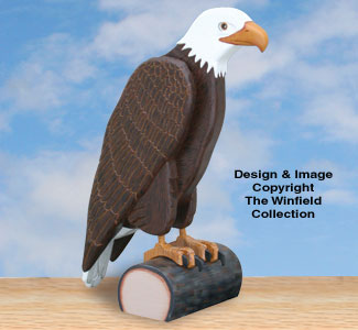 Proud Eagle Woodcraft Pattern