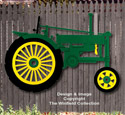 Large Tractor Woodcraft Pattern