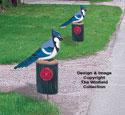 Blue Jay Driveway Marker Pattern