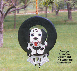 Swingin' Puppy Woodcraft Pattern