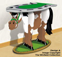 Horse-Lover's Table Pattern