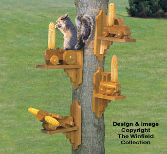 Squirrel Feeders Woodcraft Plans