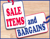 Sale Items & Bargains