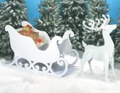 Reindeer & Sleighs