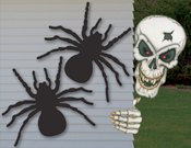 Skeletons & Spiders