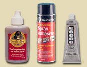 Adhesives, Glues & Wood Filler