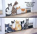 Cat Sliding Door Locks Wood Pattern