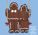 Swinging Gingerbread Couple Pattern