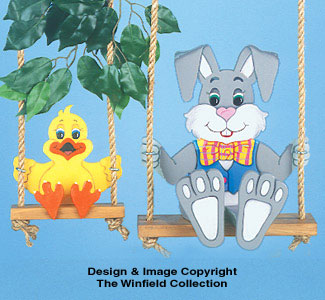 Swingin' Easter Pair Woodcraft Pattern