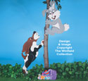 Treed Easter Bunny Woodcraft Pattern
