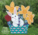 Easter Bunny Basket Woodcraft Pattern