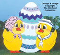 Chicks & Egg Woodcraft Pattern