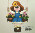 Mary The Garden Swinger Woodcraft Pattern