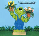 Freddy Frog Plant Stand Pattern