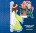 Garden Angel Plant Holder Pattern