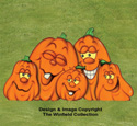 Large Pumpkin Patch Color Poster