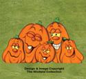 Medium Pumpkin Patch Color Poster