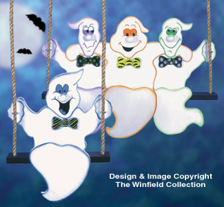 Swingin' Ghosts Woodcraft Pattern
