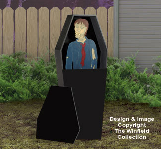 Creepy Casket Woodcraft Pattern