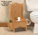 Oak Potty Chair Woodworking Plan