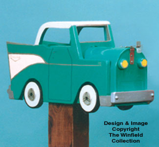 '57 Chevy Mail Box Woodcraft Pattern