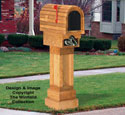 Cedar Mailbox Wood Project Pattern