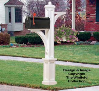 Mailbox Plant Hanger Woodcraft Pattern