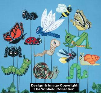 Bug Plant Pokes Woodcraft Pattern
