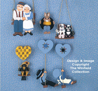 Miniature Swingers #2 Woodcraft Pattern