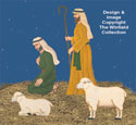 Shepherds & Sheep Nativity Pattern Set