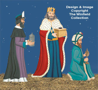 Three Kings Nativity Pattern Set