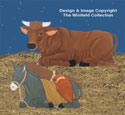Nativity Cow & Donkey Woodcraft Patterns