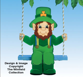 Swingin' Leprechaun Woodcraft Pattern
