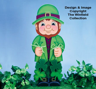 Little Leprechaun Woodcraft Pattern