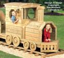 Locomotive Play Structure Plans