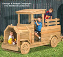 Truck Play Structure Wood Plans